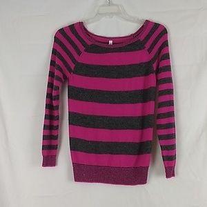 797e348eac3ab Women Pink Aeropostale Striped Sweater on Poshmark